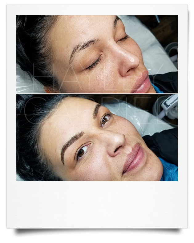 Permanent Eyebrows by Hayley Shortridge-Gabriel