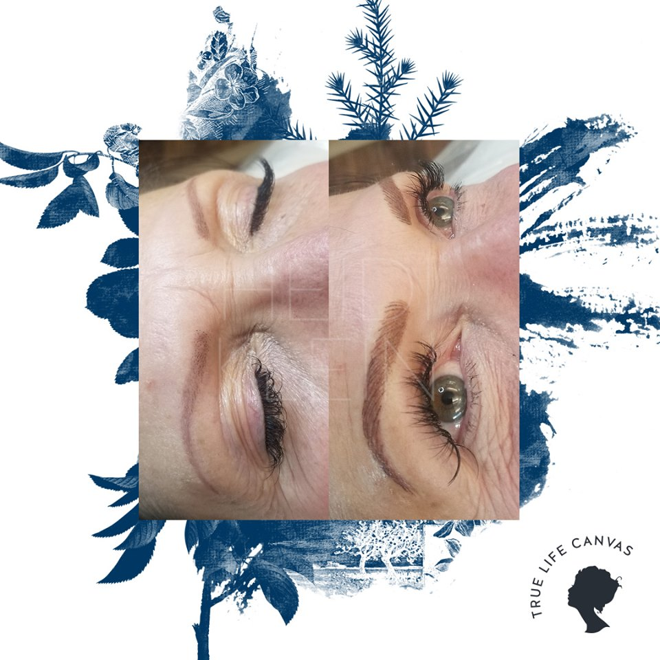 Permanent Eyebrows by Heidi Klein