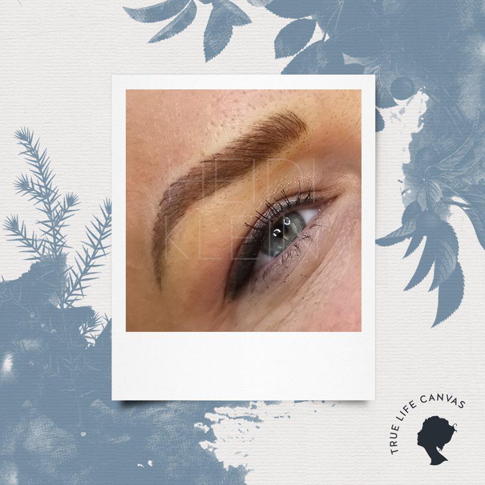 Permanent Eyebrows by Heidi Klein